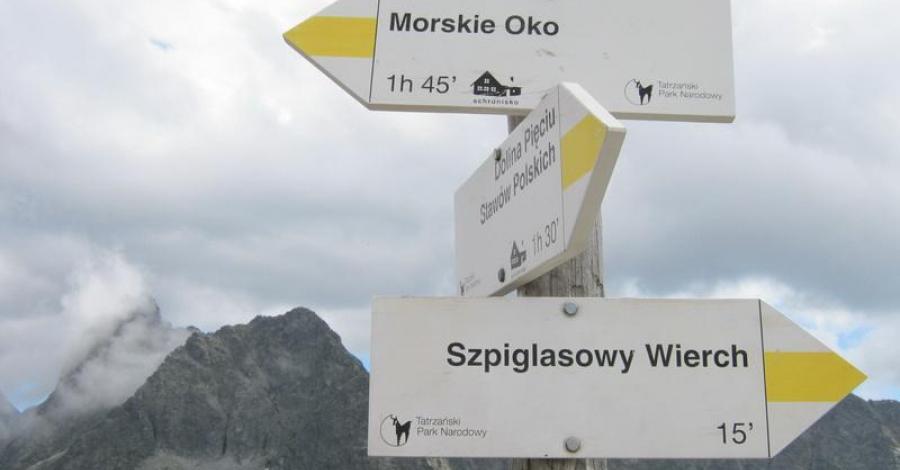 Szpiglasowa Przełęcz 2110m n.p.m. - zdjęcie