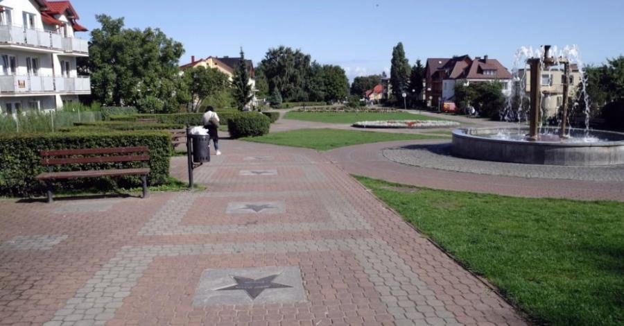 Aleja Gwiazd Sportu we Władysławowie - zdjęcie