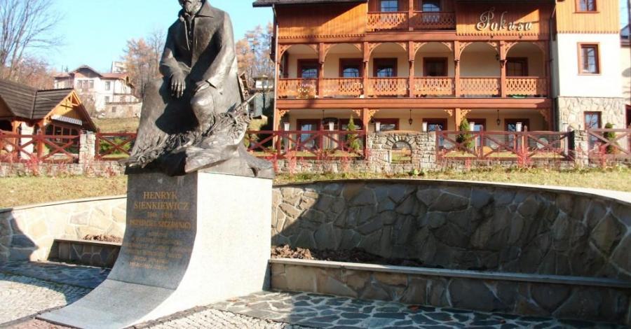 Pomnik Henryka Sienkiewicza w Szczawnicy - zdjęcie