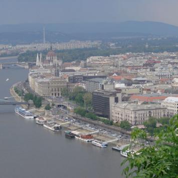 Budapeszt i zakole Dunaju - zdjęcie