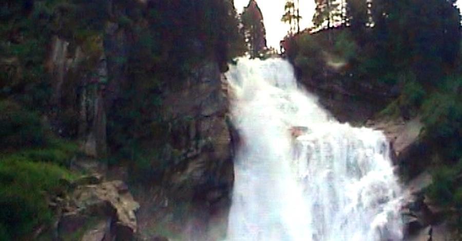 Austria cz. III - wodospady Krimml