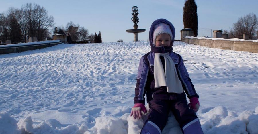 Zimowy spacer w Świerklańcu - zdjęcie