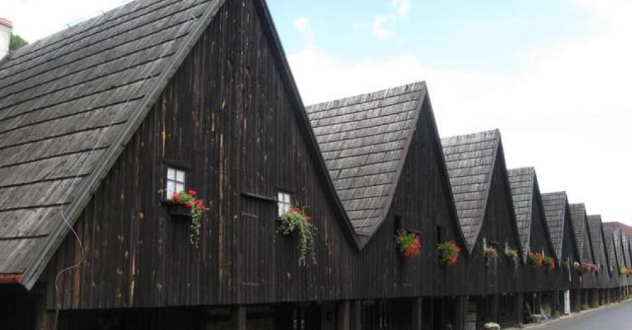 Domy Tkaczy w Chełmsku Śląskim - zdjęcie