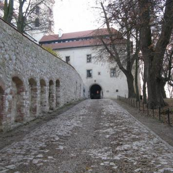 Opactwo Benedyktynów w Tyńcu.
