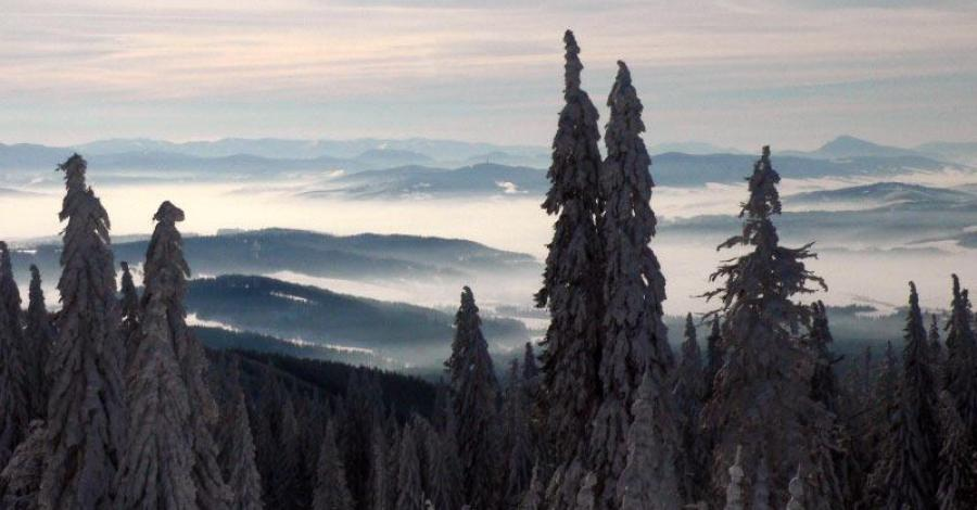 Babia Góra zima 2012 - zdjęcie