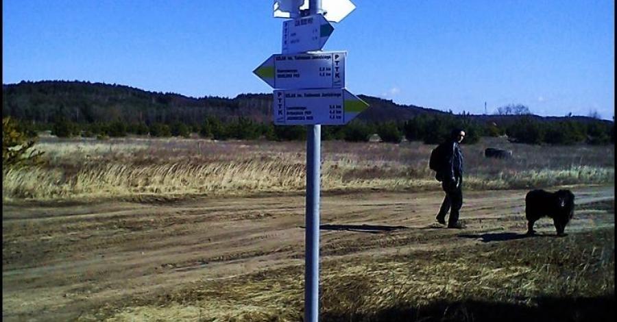 Zielonym szlakiem do Gądecza - zdjęcie