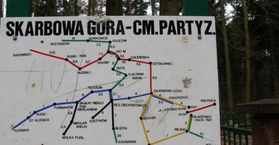 Wędrówka po Garbie Gielniowskim - zdjęcie