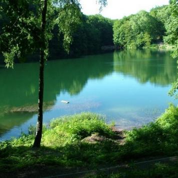 Jezioro Szmaragdowe w Szczecinie - zdjęcie