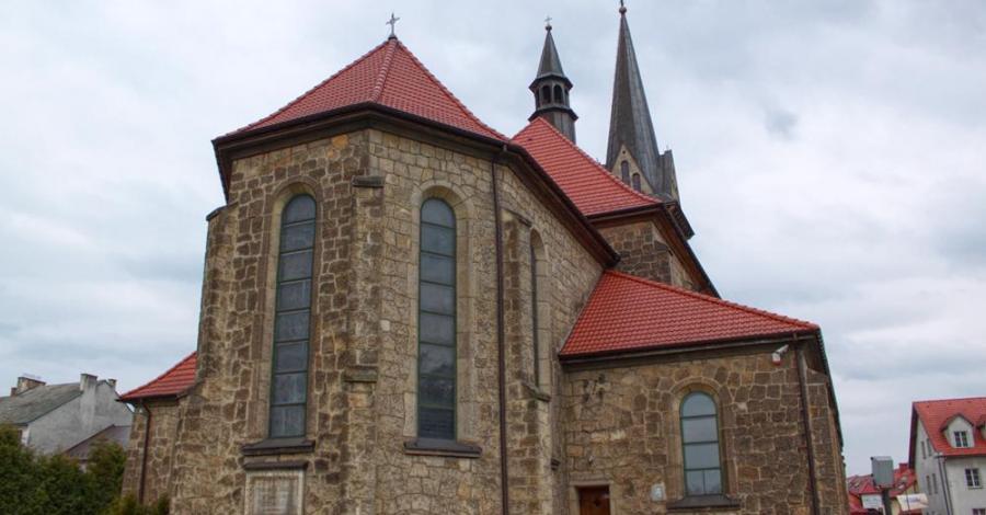 Kościół w Dobczycach - zdjęcie