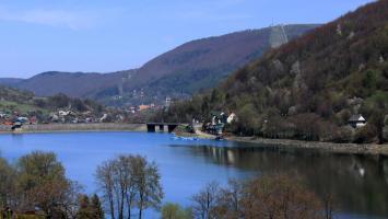 Żywiec i Jezioro Żywieckie - zdjęcie