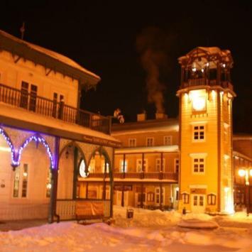 Zima w Iwoniczu Zdroju 2012 - zdjęcie