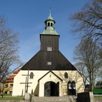 Łeba, kościół pw. Wniebowzięcia Najświętszej Maryi Panny , toja1358