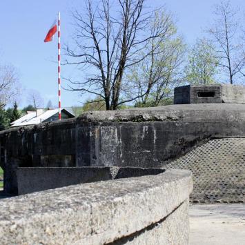 Fort Wędrowiec w Węgierskiej Górce - zdjęcie