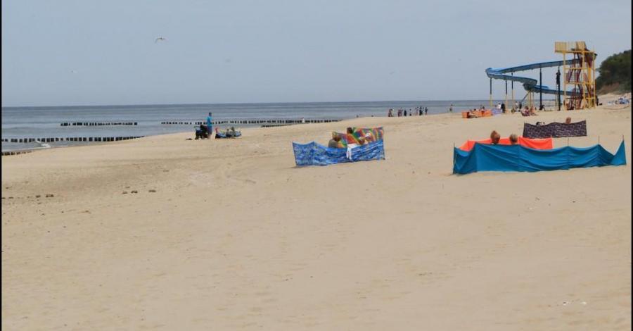 Plaża w Rewalu - zdjęcie