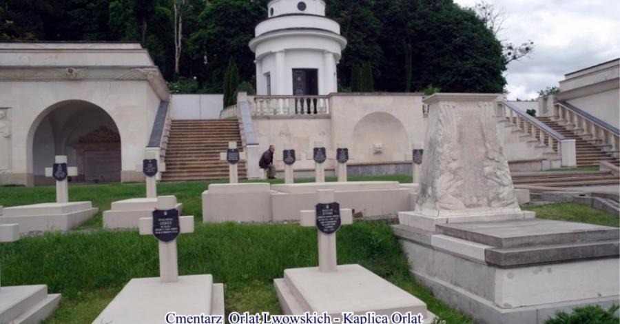 "Łyczakowski Panteon ""Bene Merentium"". - zdjęcie"