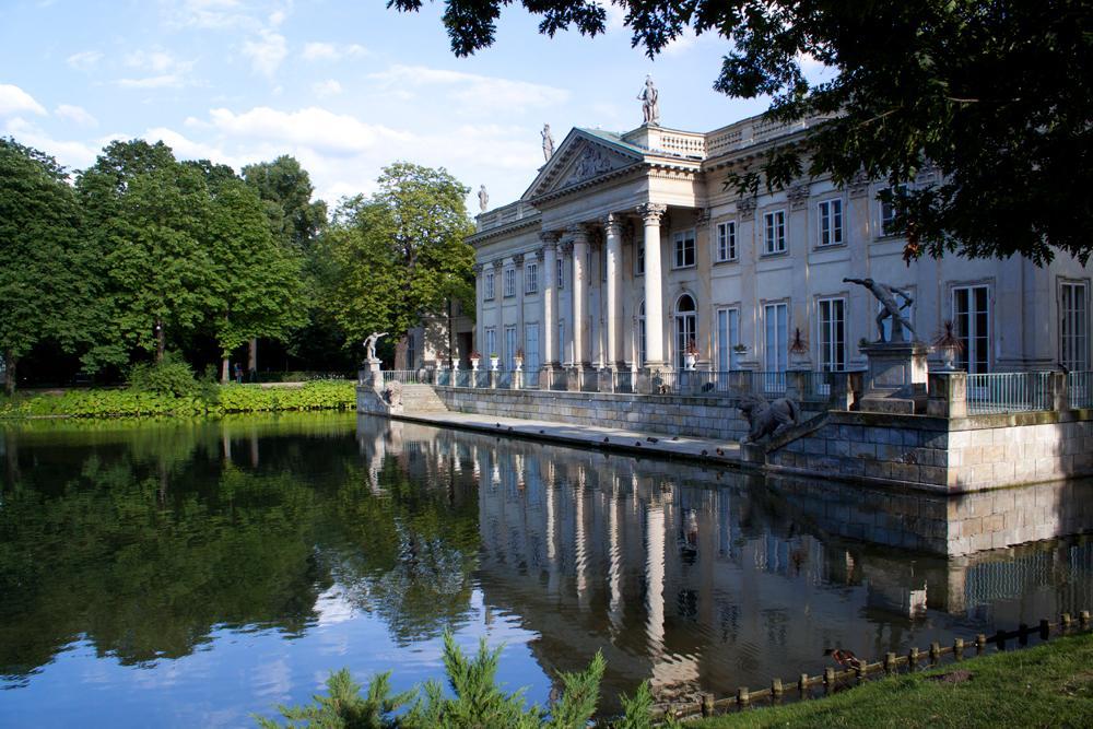 łazienki Królewskie W Warszawie Pałace I Dworki Polskie