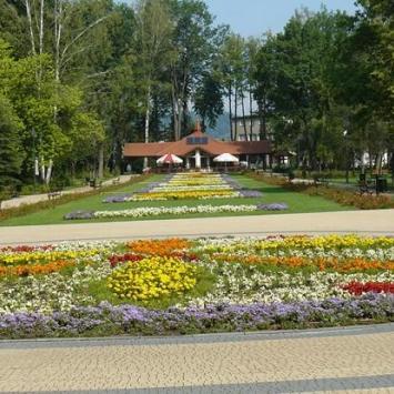 Park Zdrojowy w Rabce Zdrój - zdjęcie