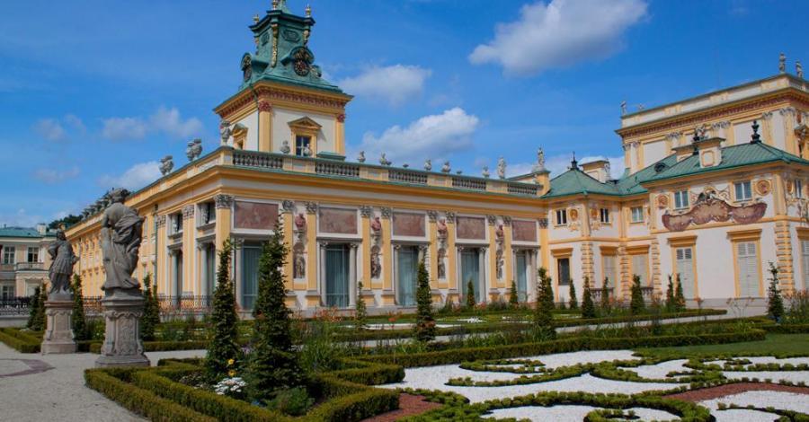 Pałac w Wilanowie - zdjęcie