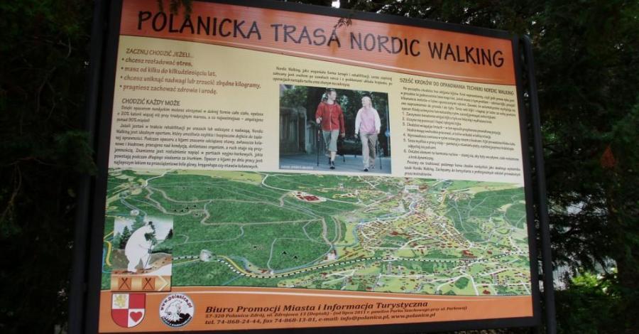 Trasy Nordic Walking w Polanicy Zdroju - zdjęcie