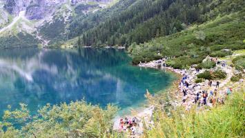 Morskie Oko w Tatrach - zdjęcie
