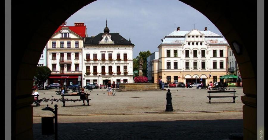 Pogórze Śląskie: Cieszyn - część zabytkowa. - zdjęcie
