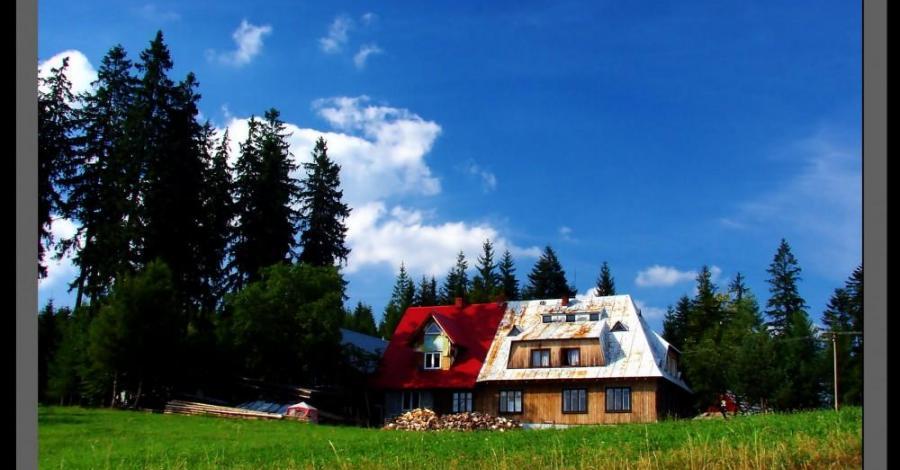 Beskid Śląski: Przełęcz Kubalonka 758m - Schronisko Stecówka 760m. - zdjęcie