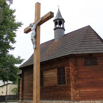 Drewniany kościół Św. Anny w Lublińcu