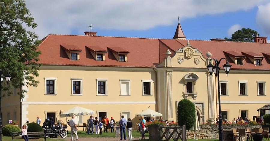 Gwarki na zamku w Starych Tarnowicach - zdjęcie