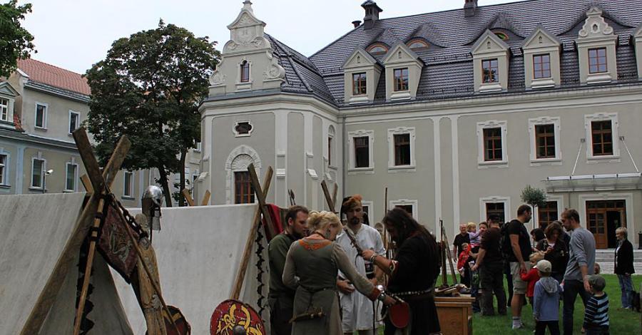 Piknik rycerski na zamku w Lublińcu - zdjęcie