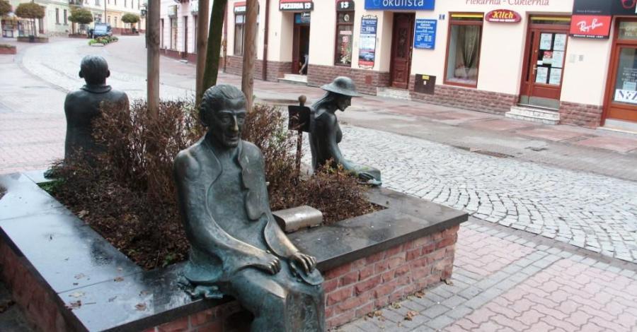 Ławeczka Poetów, mokunka