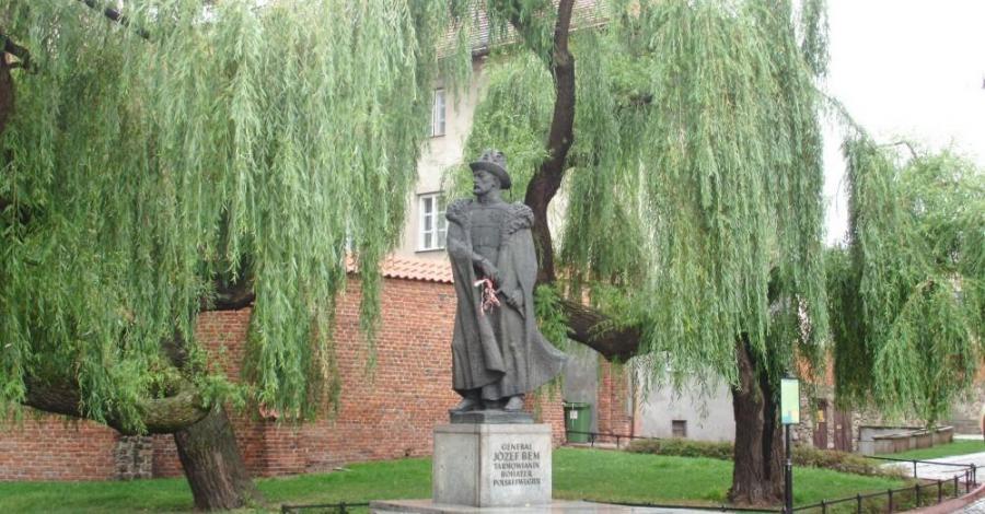 Pomnik generała Bema w Tarnowie, mokunka