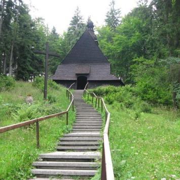 Przełęcz Kubalonka- na Szlaku Architektury Drewnianej