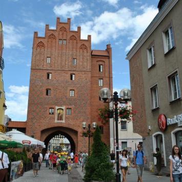 Wysoka Brama w Olsztynie - zdjęcie