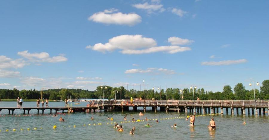 Jezioro Krzywe w Olsztynie - zdjęcie