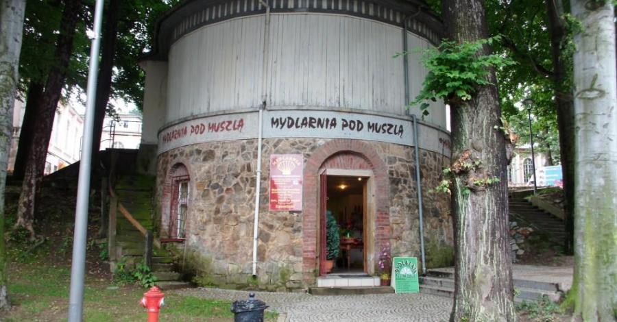 Muszla koncertowa w Lądku Zdroju - zdjęcie