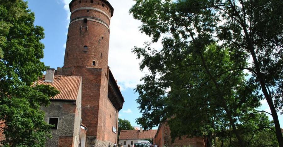 Zamek kapituły w Olsztynie - zdjęcie