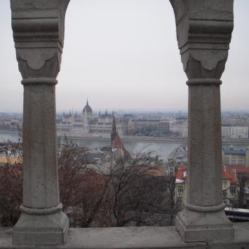Budapeszt zimą - zdjęcie
