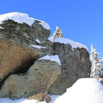 Zimowo po Beskidzie - zdjęcie