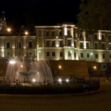 Bielsko - Biała nocą
