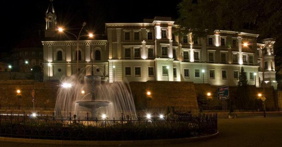 Bielsko - Biała nocą - zdjęcie
