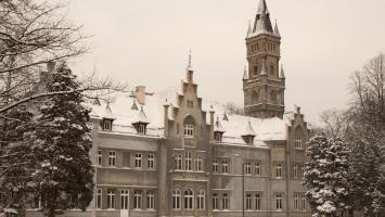 Nakło Śląskie w zimowej aurze - zdjęcie