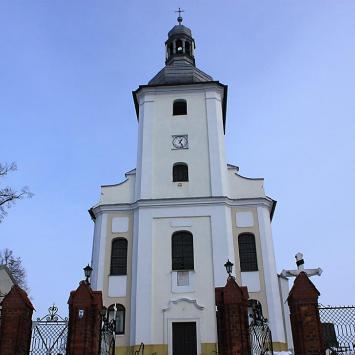Kościół w Łubiu