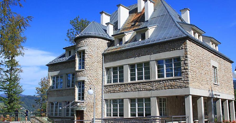 Zamek w Wiśle - zdjęcie