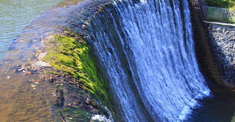 Wodospad w Wiśle - zdjęcie