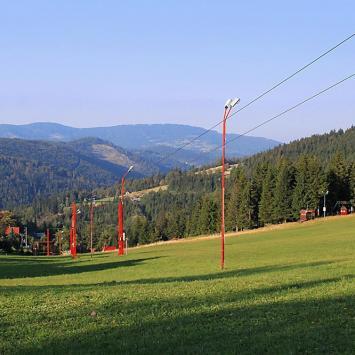 Przełęcz Salmopolska w Beskidzie Śląskim
