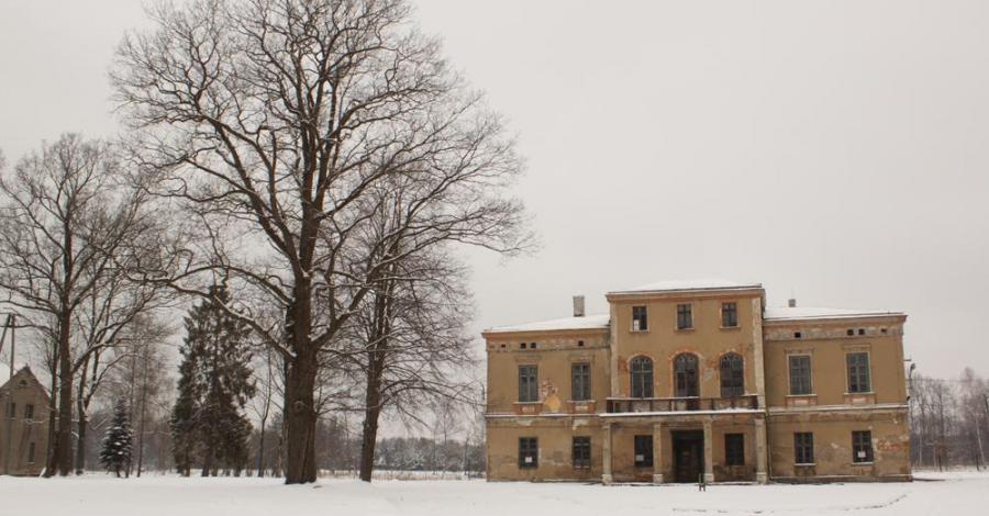 Pałac w Kaletach Zielonej - zdjęcie