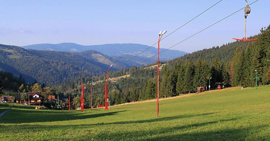 Przełęcz Salmopolska w Beskidzie Śląskim - zdjęcie