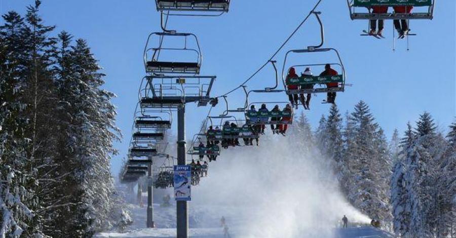 Stacja narciarska Wierchomla - zdjęcie