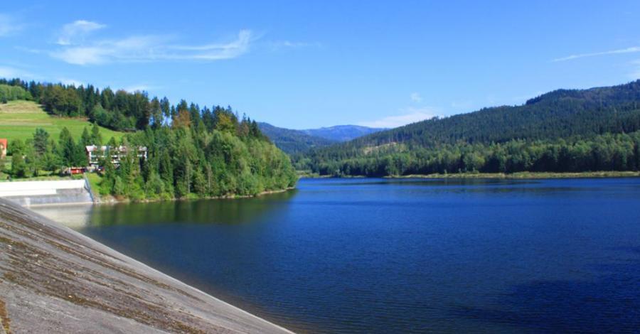 Jezioro Czerniańskie w Wiśle - zdjęcie