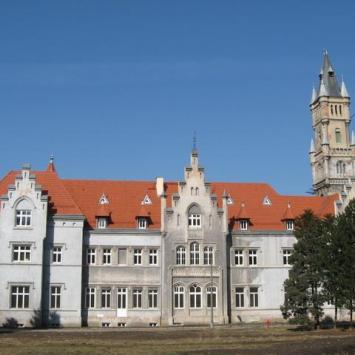 Nakło Śląskie- dawna rezydencja Donnersmarcków